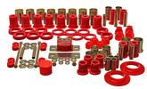 1978-87 Buick Regal - Hyper-Flex Poly Bushing Set - Red