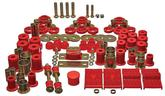 1974-75 Firebird, 1975-79 Camaro Red Hyper-Flex Polyurethane Bushing Set