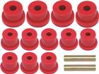 1967-69 Camaro/Firebird, 1968-74 Nova with Mono Leaf Red Polyurethane Leaf Spring Bushing Set
