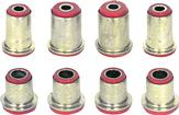 1970-72 POLYURETHANE FRONT END BUSHING KIT (RED)