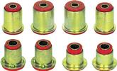 1980-81 POLYURETHANE FRONT END BUSHING KIT (RED)