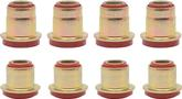 1955-64 Chevrolet Red Polyurethane Control Arm Bushing Set