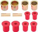1983-04 S-SERIES TRUCK 4WD POLYURETHANE CONTROL ARM BUSHING SET (RED)
