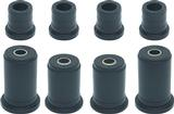 1988-02 Chevrolet/GMC Truck 1/2 Ton 2WD Polyurethane Control Arm Bushing Set; Black