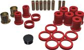 1978-96 IMPALA / FULL SIZE RED POLYURETHANE REAR CONTROL ARM BUSHING SET