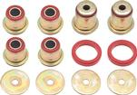 1962-67 CHEVY II / NOVA POLYURETHANE CONTROL ARM BUSHING SET (RED)