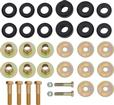 "1973-75 Firebird Polyurethane Body Mount Bushings (Black) For 1"" Hole In Radiator Core Support"
