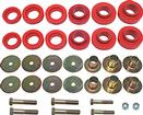 1967-81 Red Polyurethane Body Mount Bushing Set