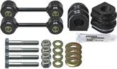 2010-14 Camaro Rear Sway Bar Bushing Set 23Mm - Black