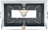 1957 CHEVROLET IN-DASH CLOCK WITH QUARTZ MOVEMENT BLACK FACE