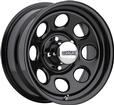 "15"" x 7"" Cragar 397 Series Soft 8 Wheel with Black Powder Coat Finish"