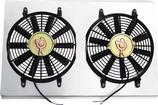 "Norhhern 12"" Dual Fan / Shroud Assembly for CR5026, CR5055, CR5061 or CR5065 Aluminum Radiators"