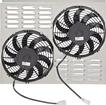 "Norhhern 10"" Dual Fan/Shroud Assembly for CR5072. CR5125, 205140, 205141. 205182 Aluminum Radiators"