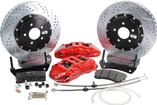 "1993-02 Camaro/Firebird Baer Extreme+ 14"" Disc Brake Set w/o Hubs/Spindles with Red Calipers"