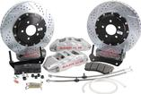 "1993-02 Camaro/Firebird Baer Extreme+ 14"" Disc Brake Set w/o Hubs/Spindles with Silver Calipers"
