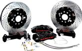 "1993-2002 Camaro / Firebird Baer 14"" Pro+ Front Disc Brake Set without Hubs with Black Calipes"