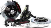 "1994-96 Impala / Caprie Baer 13"" Pro+ Front Disc Brake Set with Stock Spindles and Black Calipers"