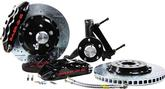 "1971-76 Impala/Full Size Baer Extreme+ 14"" Disc Brake Set with Stock Spindles and Black Caliper"