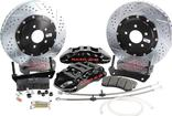 "2010-15 Camaro - Baer Extreme+ Front Disc Brake Set with 15"" 2-pc Rotors - Black Calipers"