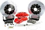 "2010-15 Camaro - Baer Extreme+ Front Disc Brake Set with 15"" 2-pc Rotors - Red Calipers"