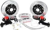"1958-70 Chevy Full Size w/CCP Drop Spindles Baer Pro+ 14"" Front Disc Brake Set with Silver Calipers"