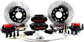 "1955-57 Passenger Car; 58-68 Impala/Full Size Baer 11"" SS4+ Front Disc Brake Set with Black Calipers"