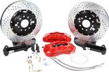"1967-81 F-Body; 1968-79 Nova Baer 14"" Pro+ Front Disc Brake Set without Hubs with Red Calipes"