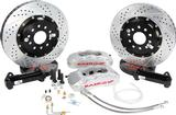 "1967-81 F-Body; 1968-79 Nova Baer 14"" Pro+ Front Disc Brake Set without Hubs with Silver Calipes"