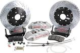 "2010-15 Camaro - Baer Extreme+ Rear Disc Brake Set with 15"" 2-pc Rotors - Silver Calipers"