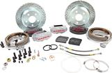 "1982-92 F-Body w/Borg-Warner 9-bolt Rear End Baer 12"" SS4 Rear Disc Brake Set with Silver Calipers"