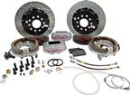 "1982-92 F-Body with Saginaw 10-Bolt Disc Baer 13"" SS4+ Rear Disc Brake Set with Silver Calipers"