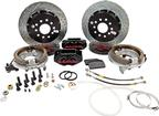 "1982-92 F-Body w/Borg-Warner 9-bolt Rear End Baer 13"" SS4+ Rear Disc Brake Set with Black Calipers"