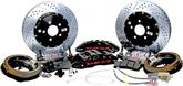 "1955-57 Chevrolet Car with Stock Rear End Baer Extreme+ 14"" Rear Disc Brake Set w/Black Calipers"