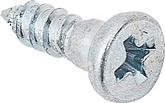 "Molding Clip Stud Screw;  #4 x 3/8"" with 1/8"" Shoulder; Zinc Plated"
