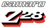 1978 Camaro Z28 Black/Clear/Red/Orange Front Fender Decal