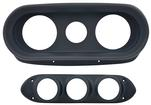 1962-65 Chevy Ii / Nova 6 Hole 2 Piece Dash Panel - Black
