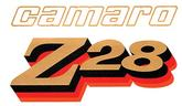 1978 CAMARO Z28 FRONT FENDER DECAL - GOLD/BLACK/RED/ORANGE
