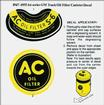 "1947-55 ""ac"" Oil Filter Decal"