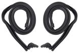 1965-66 Mustang Fastback Roof Rail Roof Weatherstrip (pair)