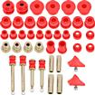 1966-76 Mopar A-Body Hyper-Flex Red Polyurethane Bushing Set