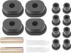 1973-76 Mopar B-Body Rear Spring/Shackle Bushings Polyurethane Black