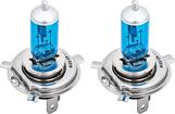 H4 Xenon 60-55 Watt Hyper White High Performance Headlamp Bulbs