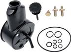 1967-68 Power Steering Reservoir Small Block (Black Powder Coat)
