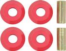 1965-76 MOPAR A / B / E-BODY RED POLYURETHANE STRUT ROD BUSHING KIT