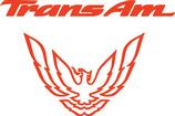 "1993-02 Trans AM Red ""Trans Am"" with Bird Rear Panel Decal"