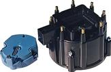 1974-85 Proform Black HEI V8 Distributor Cap and Rotor Set