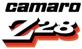 1978 CAMARO Z28 STRIPE DECAL SET - GOLD/DARK GOLD/BLACK/CLEAR