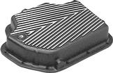 TH400 Deep Sump Cast Aluminum Transmission Pan with Black Powder Coat Finish