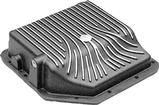 TH350 Deep Sump Cast Aluminum Transmission Pan with Black Powder Coat Finish