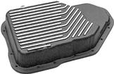 TH200-4R Deep Sump Cast Aluminum Transmission Pan with Black Powder Coat Finish
